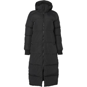 North Bend Puff Chaqueta Larga Mujer, black